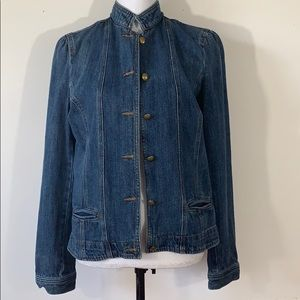 CHAPS Denim Jean Jacket sz Medium